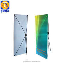 Stable easy setup butterfly X banner stand for advertisement