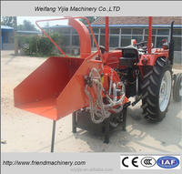 Hot selling cheap price CE certificate tractor wood chipper
