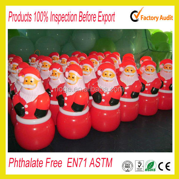 Factory Sale inflatable christmas decoration/inflatable santa claus