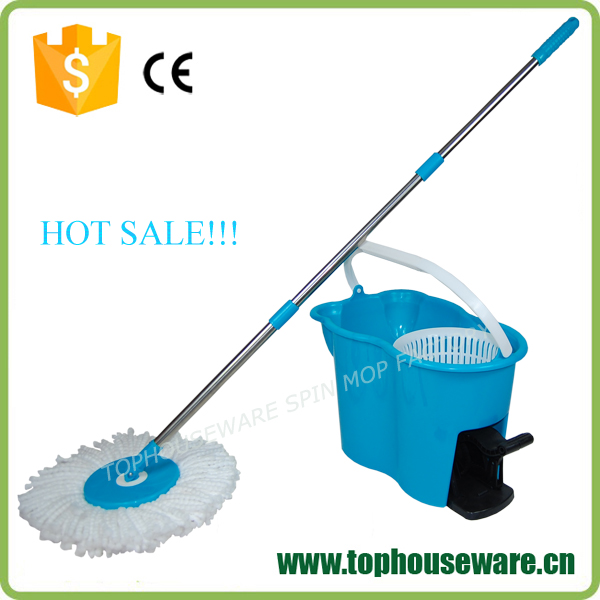 2015 New design easy spin magic mop from China