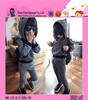 Fashion Sunshine Casual Suit Custom One Piece Gray Strip Hat Girls Sweater Clothes 2015