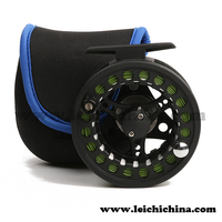Strong balance Aluminum die casting fly fishing reel