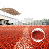 rubber running track surface and field material