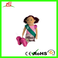 Good quality velvet 45cn plush life size doll foe girl gift