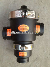 "Duoling DN100 4"" y strainer drain valve for industrial with plastic injection molding"
