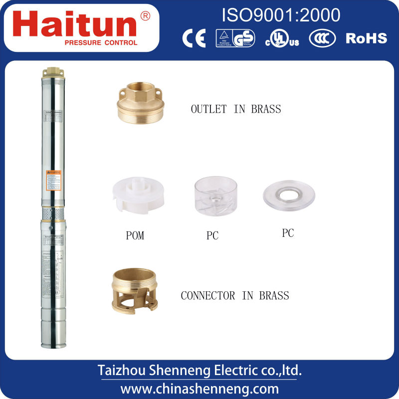 4 inch easy installation small electric water pump