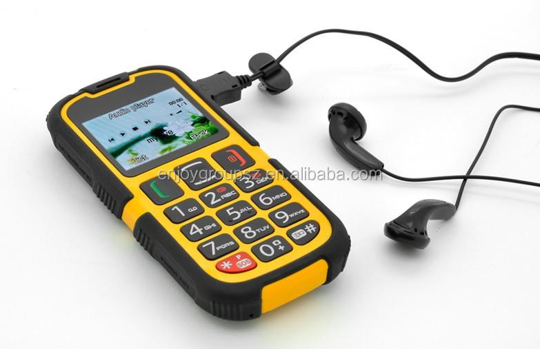 2016 Dual Sim Phones Talking Voice Keypad / Buttons Senior Citizen ...