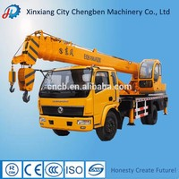 Powerful Chinese used service pickup 10 ton truck cranes for sale