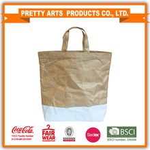 BSCI SEDEX Pillar 4 really factory audit customized shopping bag washnable kraft paper bag