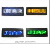 2015 multifunction LED Name Badge Can Display Varied color and Symbol Easily Edit and Operating