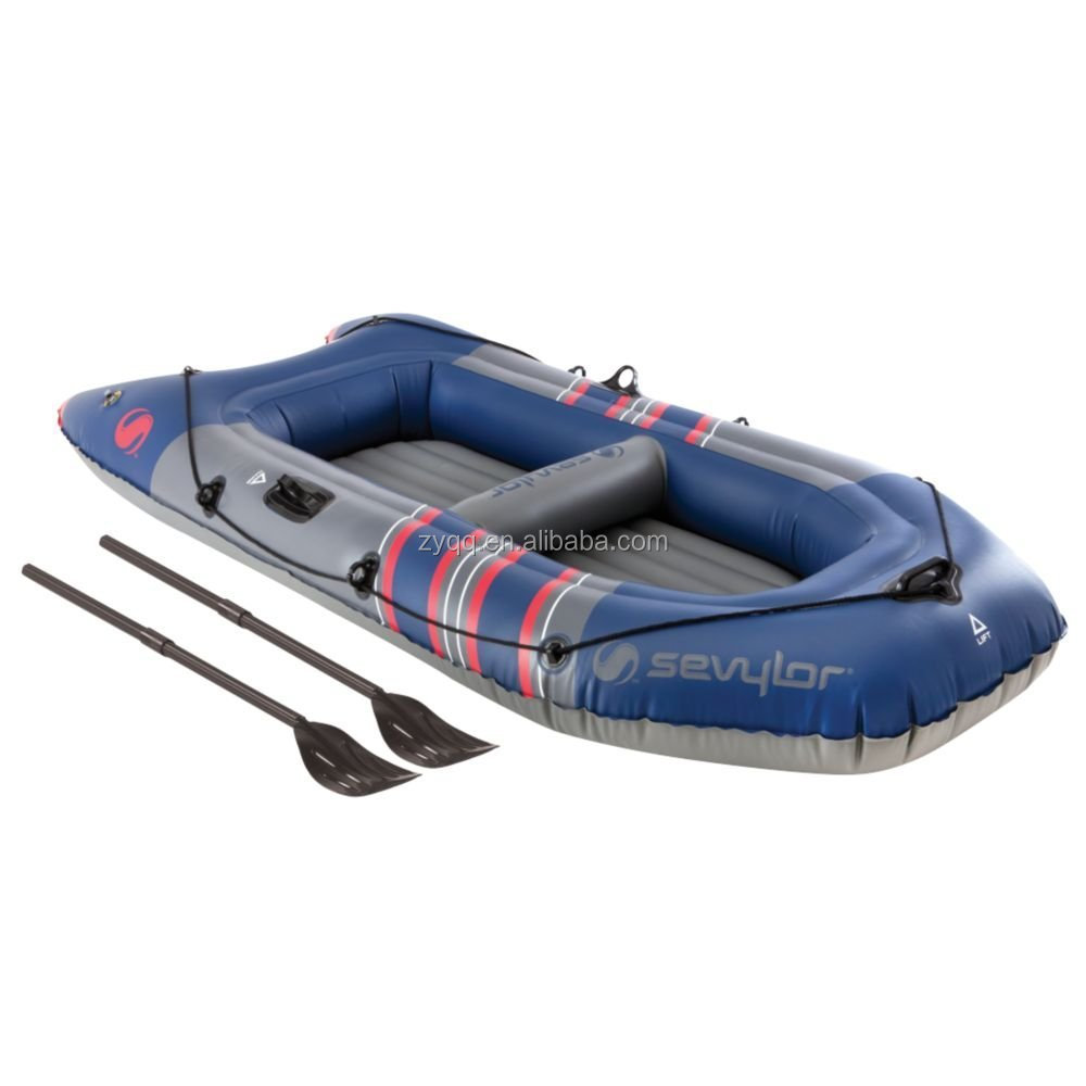 Inflatable Boat 2 People Raft Camping Water Sports Fishing