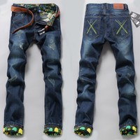 2016 Fashion New Product Men Rock Revival Exe Jeans In Ahmedabad