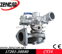 Stock! Turbocharger for toyota 2kd-ftv 2.5l 102hp CT16 17201-30080