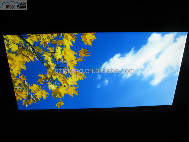 golden leave autumn sky image LED ceiling light