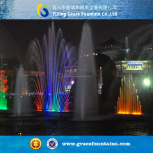 led light Colorchanging Sculpture water jet