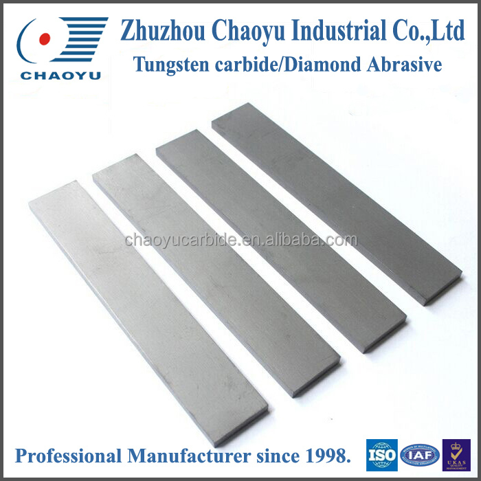 Sintered Tungsten carbide rectangular strips
