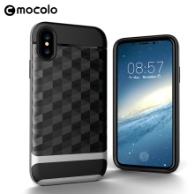 Online Phone Case Store Wholesale Tpu Pc 2 In 1 Shockproof Mobile Cover For Iphone X Case