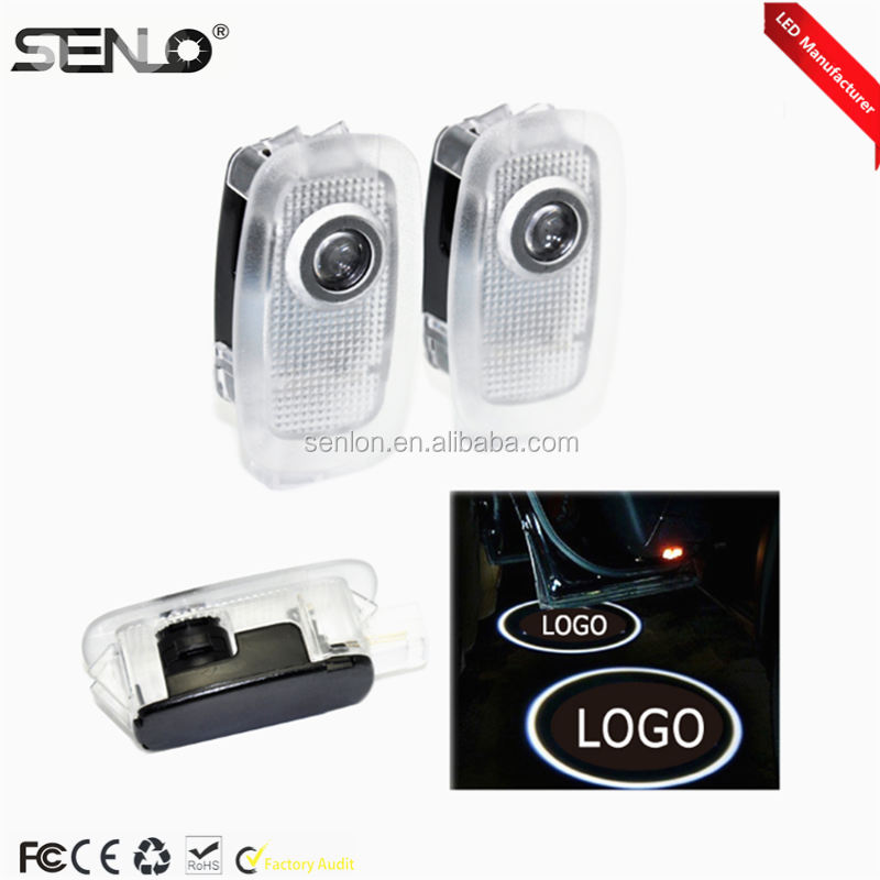 3D auto Car door courtesy laser projector Logo Ghost Shadow Light For Mercede s ben z Class W221 AMG S500 S350 S63 S65