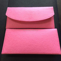 Wholesale alibaba handicraft OEM felt ladies hand purse