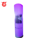 High quality inflatable lighting tower for advertising,portable led light tower