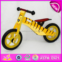 2015 New and popular wooden kids bike,hot sale wooden kids bike,high quality wooden kids bike W16C076