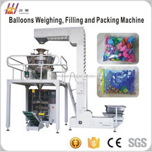 automatic Balloons counting weighing and packing machine