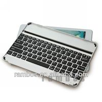 New Arrival Tablet Keyboard Cover Wireless Bluetooth Aluminum Keyboard for iPad 5