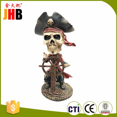 Skeleton Mariachi Guitarron Player Day of the Dead Bobblehead