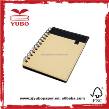 Wholesale laptop recycled spiral notebook in bulk