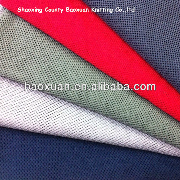 Knit 100% Polyester Thin Net Fabric