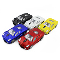 Online shopping usa five colors car shaped mouse with led light support oem logo