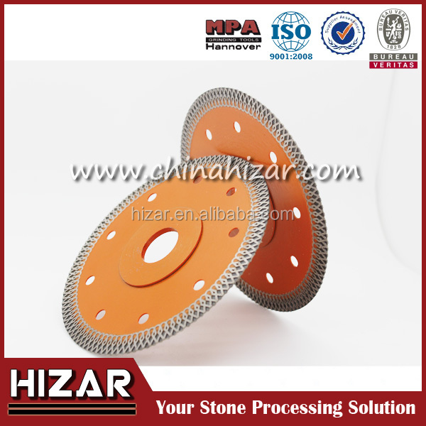 "Economic105mm 1.2mm ultra thin cutting blade cutting disc, 4"" diamond saw blade, For cutting ceramic tile"