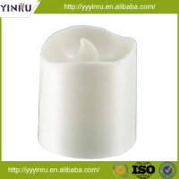 Pillar plastic electric decoration led candle, flameless led light