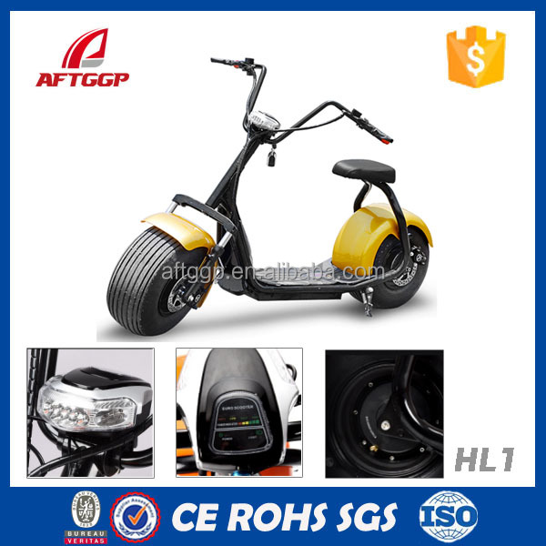 1000w New Fashion Style Electric Scooter Harley Two Wheel Mobility Scooter For Adults