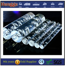 Clear acrylic hanging rod for light chandelier
