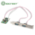 IOCREST NEW ARRIVAL 2-Port RS232 Industrial Mini PCI-E Serial Card