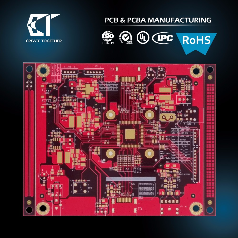 TAIWAN MADE - OEM 94v0 circuit board for PCB PCBA Assembly services