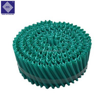 Roll Type Round Cooling Tower Fill PVC Infill
