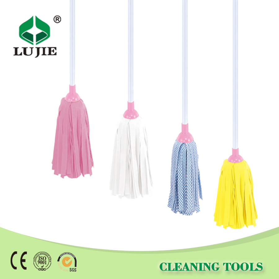 High quality popular iron handle floor cleaning industrial mops