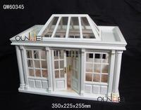 1:12 Scale Dollhouse Miniature Conservatory Display Kit Art 1:12