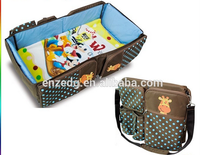 foldable baby changing bed /baby diaper bag