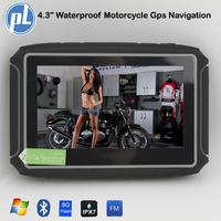 High Quality Waterproof moto Gps 4.3inch touch screen Motorcycle gps navigator multi-languages 8G flash gps moto