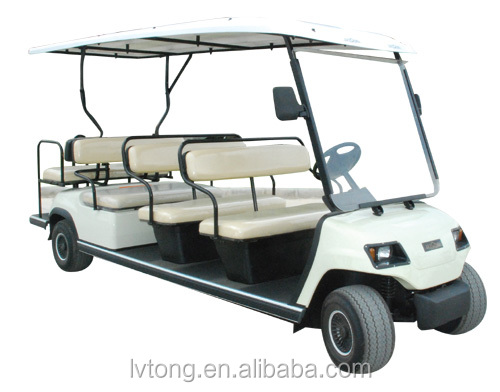 11 seats electric sightseeing tourist car with eec certification