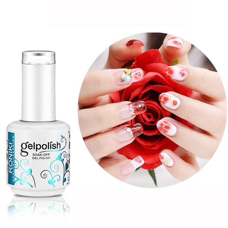 Roniki Top Brands Organic Nail Art Paint Uv Led Blossm Nail Gel For