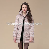 2016 women winter fashion long style duck down down feather jackets