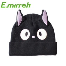 Parent-child styles Lovely cat ear knitting kids warm winter hat for child