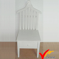 Unique Wood Antique Furniture High Back Chair