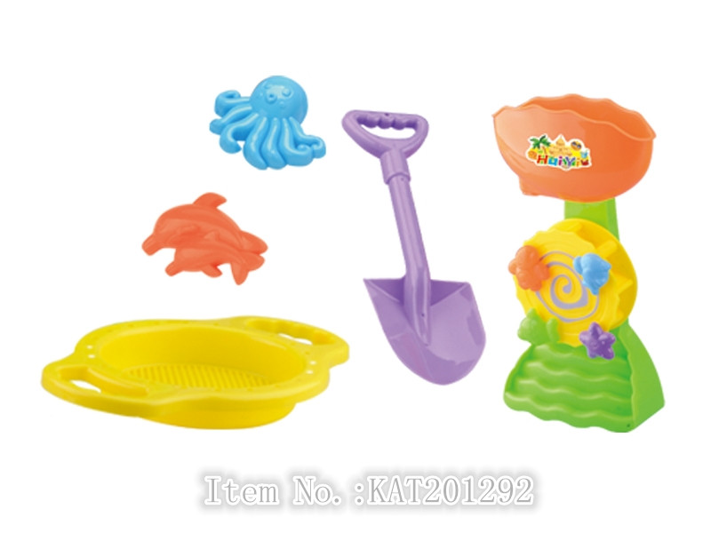 Top Quality Plastic Summer Beach Sandy Mold Toy For Kids