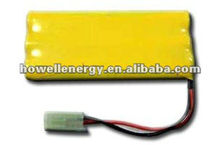 7.2v aa 700mah nicd battery pack with CE