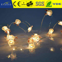 2017 new design cheap christmas copper wire mini led string light